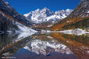 Maroon Bells Symmetry print