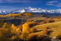 Wilson Peak Sunrise print