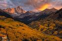 Capitol Peak Sunset  print