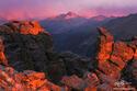 Longs Peak Sunset print