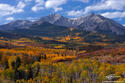 Mount Sopris Morning print