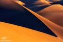 Sand Dune Sunrise print