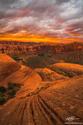Sandstone Sunset print