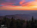 Smoky Mountain Sunset print