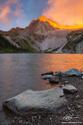 Snowmass Peak Sunrise print