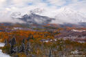 Snowy Sopris Morning print