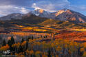 Mount Sopris Sunrise 3 print