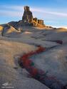 The Sand Castle print