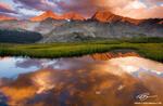 Three Apostles photos,Colorado image,reflection,Colorado mountain photo,sunset,red,mountains pictures,Colorado Mountains,Sawatch