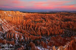 Utah, Hoodoos picture,rock Formations,Southwest,rock Patterns, sunrise, Bryce Canyon National Park pictures,Bryce Canyon photos, Bryce Canyon Sunrise, pink, dramatic