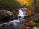 Tennessee, Fall, Autumn, Fall Foliage, Fall Colors, Great Smoky Mountain National Park, Smoky Mountains Photos, Smokies, Smoky Mountains Fall photos, River, Rivers, Stream, Streams, waterfall photos,