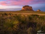 Colorado, Pawnee Buttes, Grasslands, Prairie, Colorado Grasslands photo, Sunset, pink, spring