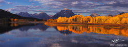 Wyoming, Oxbow Bend photos,mountain images,Fall colors,grand teton pictures,Autum picture,Gold Aspen tree,Grand Tetons Photos,Grand Teton National Park photographs,fall photos,reflection,reflections
