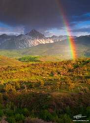 Mount Sneffels Photos,Colorado image,Rainbow photos,Spring mountain photos,mountain picture,stormy,Mt. Sneffels pictures