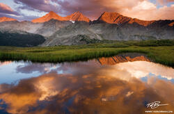 Three Apostles photos,Colorado image,reflection,Colorado mountain photo,sunset,red,mountains pictures,Colorado Mountains,Sawatch