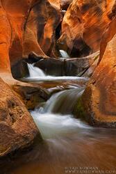 Stream,Water,Creek,Rock,Desert,Boulders,Utah waterfall,utah waterfall pictures,utah desert waterfall pictures