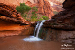 Utah,waterfall pictures, Coyote Gulch Pictures,Coyote Gulch photos,Escalante National Monument images