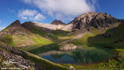 San Juan Mountain Range,Ulysses S Grant Peak,Panorama, Mountain Photo,Colorado images,Island Lake photos,Island Lake pictures