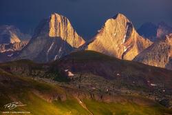 Stormy Arrow and Vestal Peak