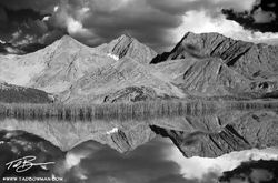 Three Apostles photos, Black&White, Colorado image, Mountain Reflection, mountain picture, collegiate peaks pictures