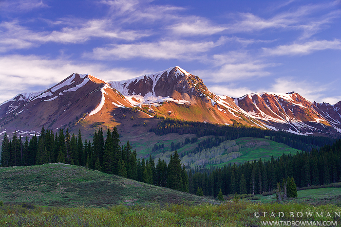 Colorado pictures,Belleview Mountain photos, Sunrise Photo, Mountain image,Mountain images,Elk Mountains,Picture,Alpine, photo