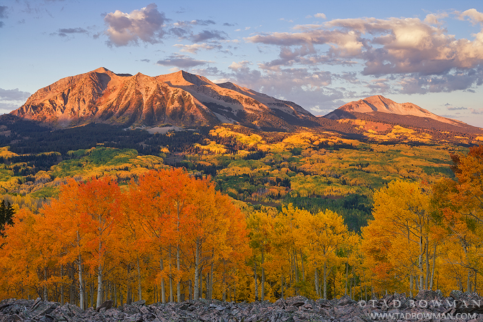 West Beckwith photos,East Beckwith photos,Crested Butte,fall colors,mountain picture,Mountain sunrise,Colorado image,autumn, photo