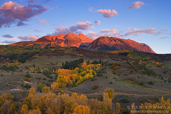 Chair Mountain photos,mountain pictures,mountains pictures, Inspirational art,Colorado image,fall color, photo