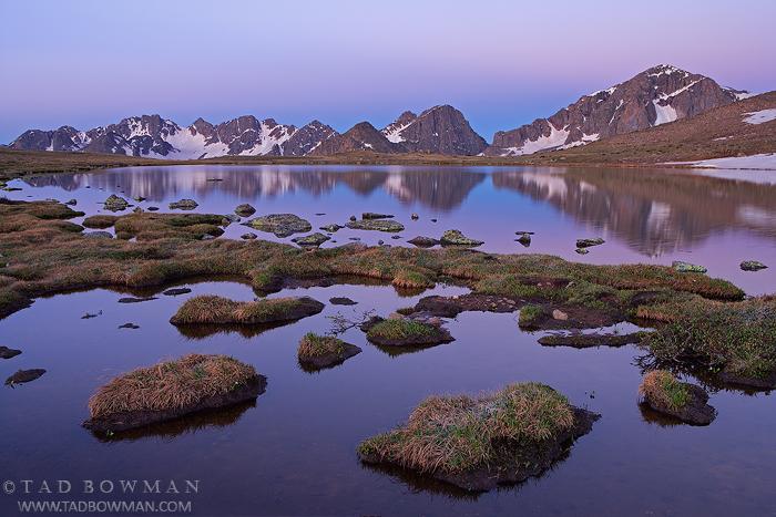 Mount Powell Photos,Dora Lake pictures, reflection, Alpine, Mountain photo, Colorado, Gore Range image, photo
