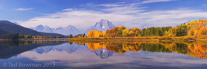 Oxbow Bend photoa,mountain pictures, Fall colors, grand teton pictures, Autum colors,mountain river,fall images, photo