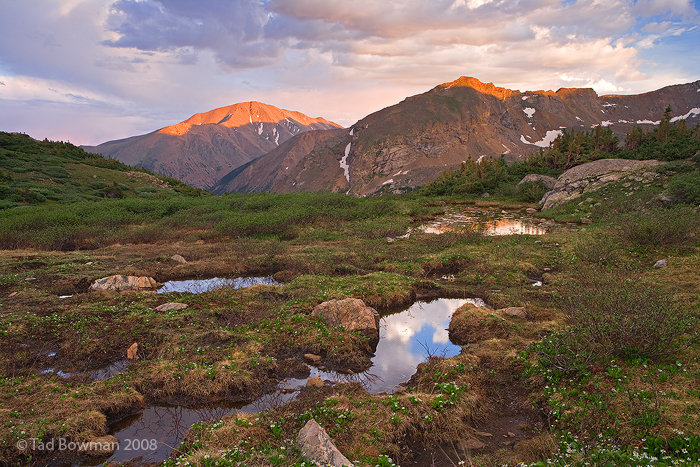 Mount Elbert Photos, Alpine photo, Colorado mountain pictures, Colorado image, San Isabel National Forest,sunset, photo