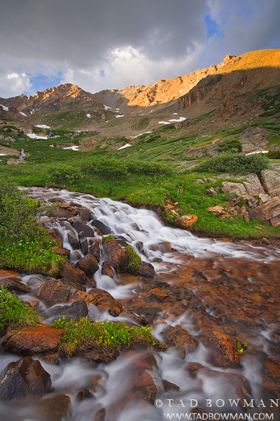 Colorado waterfall images, Colorado, waterfall picture, waterfall pictures, Mount Massive photos, photo