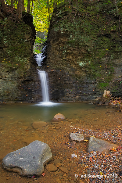 Tennessee images,North Cumberland Plateau,Notch Falls,waterfalls,fall,autumn,autumnal,notch falls pictures, photo