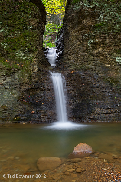 Tennessee images,North Cumberland Plateau,Notch Falls photos,notch waterfall pictures,fall,autumn,autumnal, photo