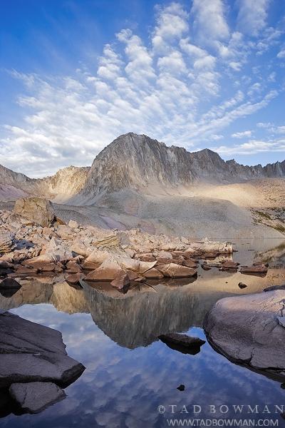Colorado image,mountain picture, mountains pictures, Mountain Reflections, Pierre Lakes photos, photo