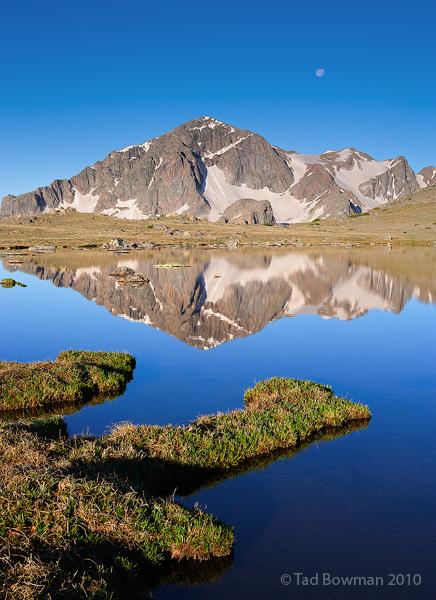 Mount Powell photos,Gore Range pictures,Dora Lake, Mountain photos,reflection,rockies,Colorado image, photo