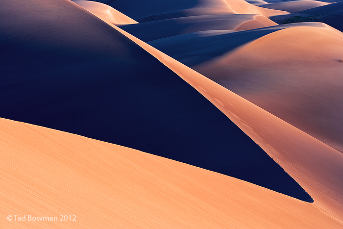 Colorado pictures,Sunrise,Warm,Sand,sand dunes images,Patterns,Abstract, Great Sand Dunes National Park photos, photo