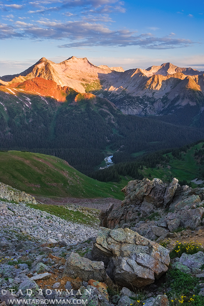 Snowmass peak photos, mountain picture, Colorado image, White River, mountains pictures, Colorado Sunrise, photo