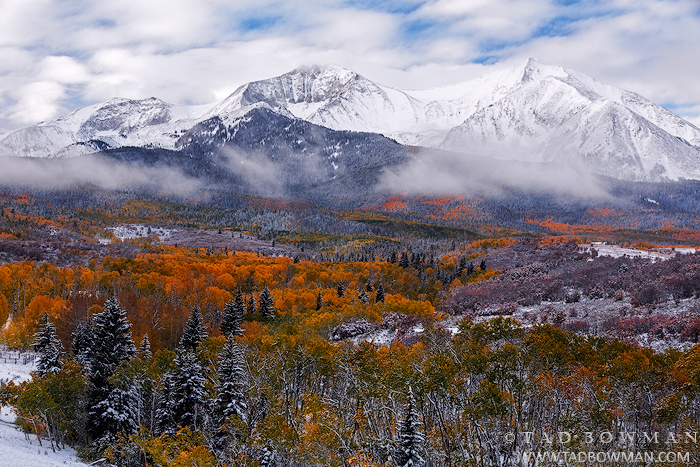 Colorado pictures,Mount Sopris photos,Fall,Autumn,Autumnal,fall foliage,colors,colorful,aspen tree,aspen trees,colorado mountain photos, Mount Sopris picture, Mount Sopris Images