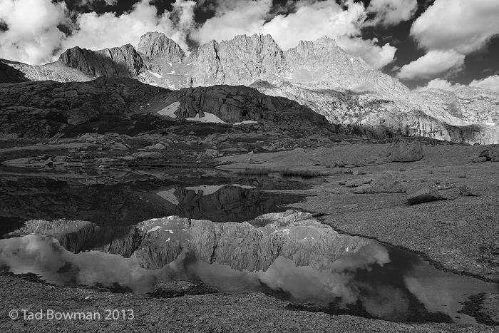 Colorado image,Sunlight Peak photos,Sunlight Basin pictures, Windom Peak photos,reflection, Black and White,Weminuche Wilderness,mountains, photo