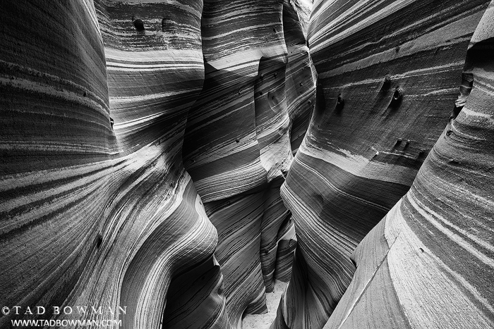 Zebra Slots photos,Escalante Slot Canyon photo, rock Striations,utah,zebra slot canyons pictures, photo