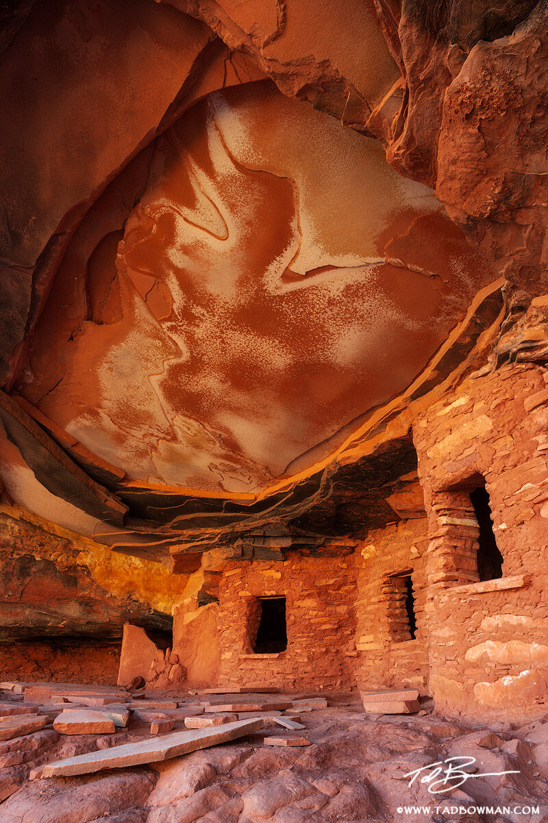 Utah Indian Ruins Colorado Plateau Desert Southwest