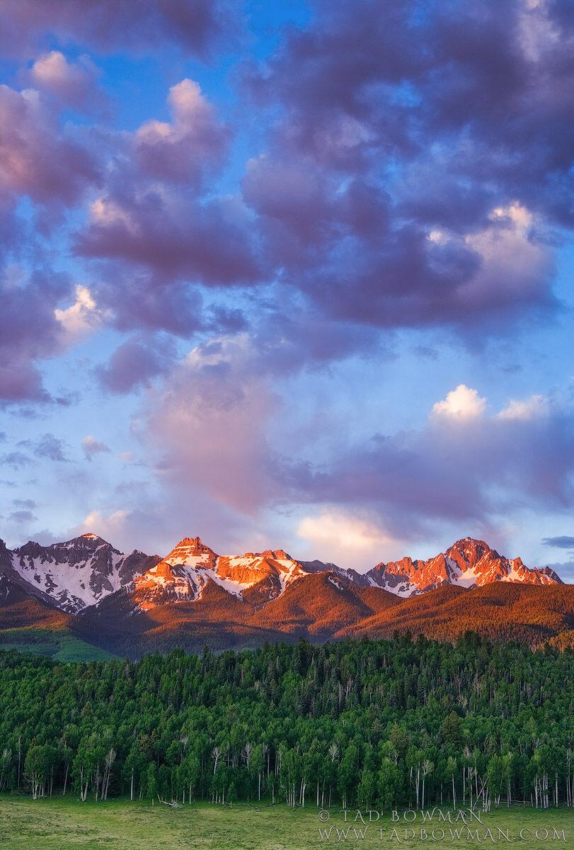 Mount Sneffels photos,Mt Sneffels pictures,mountain pictures, Colorado image,Sunrise Image,Mount Sneffels Wilderness, photo