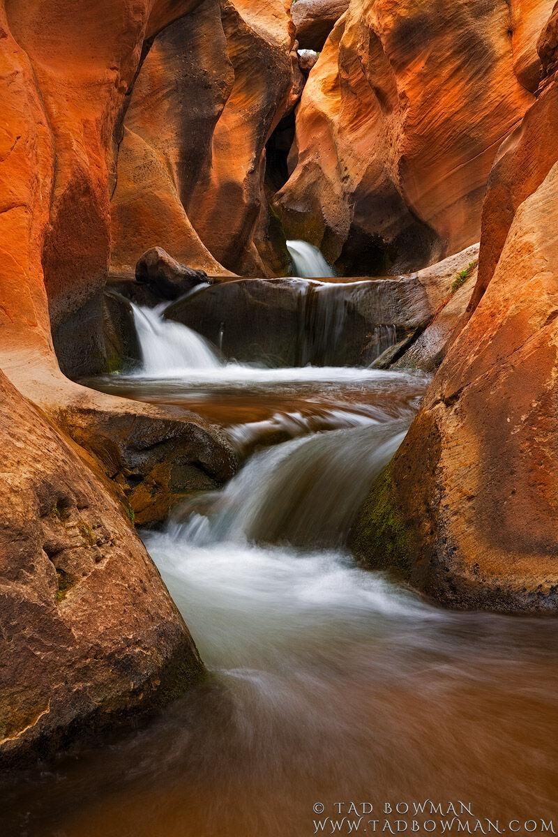 Stream,Water,Creek,Rock,Desert,Boulders,Utah waterfall,utah waterfall pictures,utah desert waterfall pictures, photo