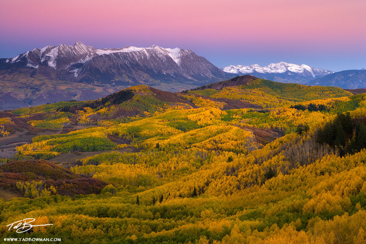 Autumn colors,Colorado Mountain Photos, mountains pictures, Earths shadow,Colorado image,fall,Chair Mountain photos, photo