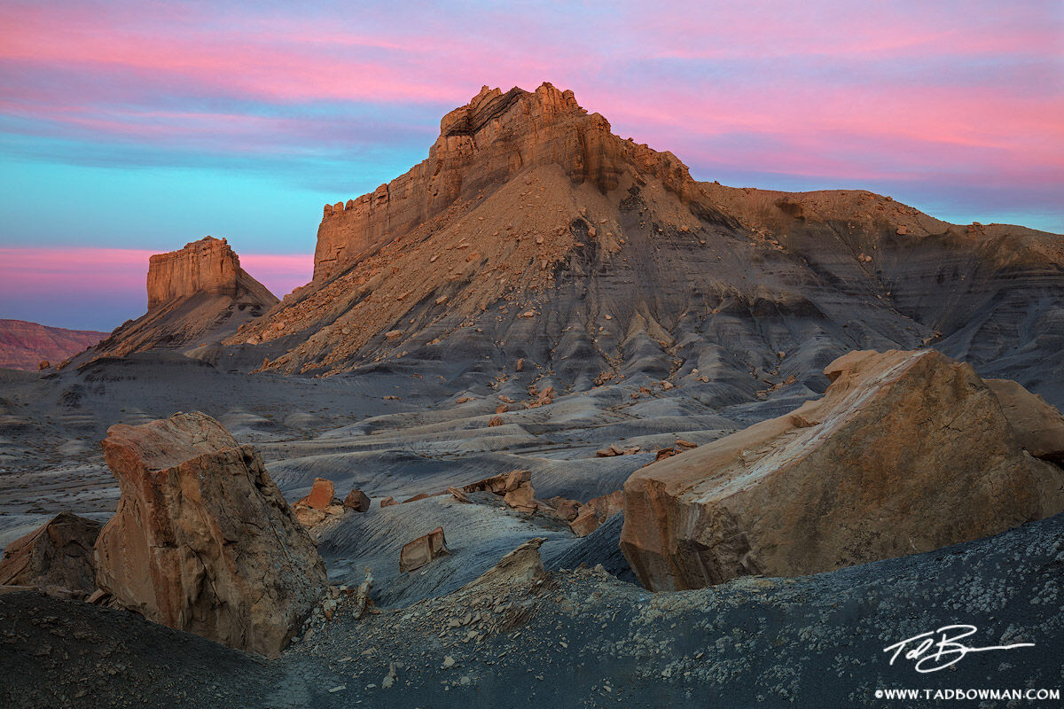 Utah, Grand Staircase-Escalante National Monument photos, sunrise, pink, sandstone, rocks, desert, arid, southwest, four corners, pictures, image, images