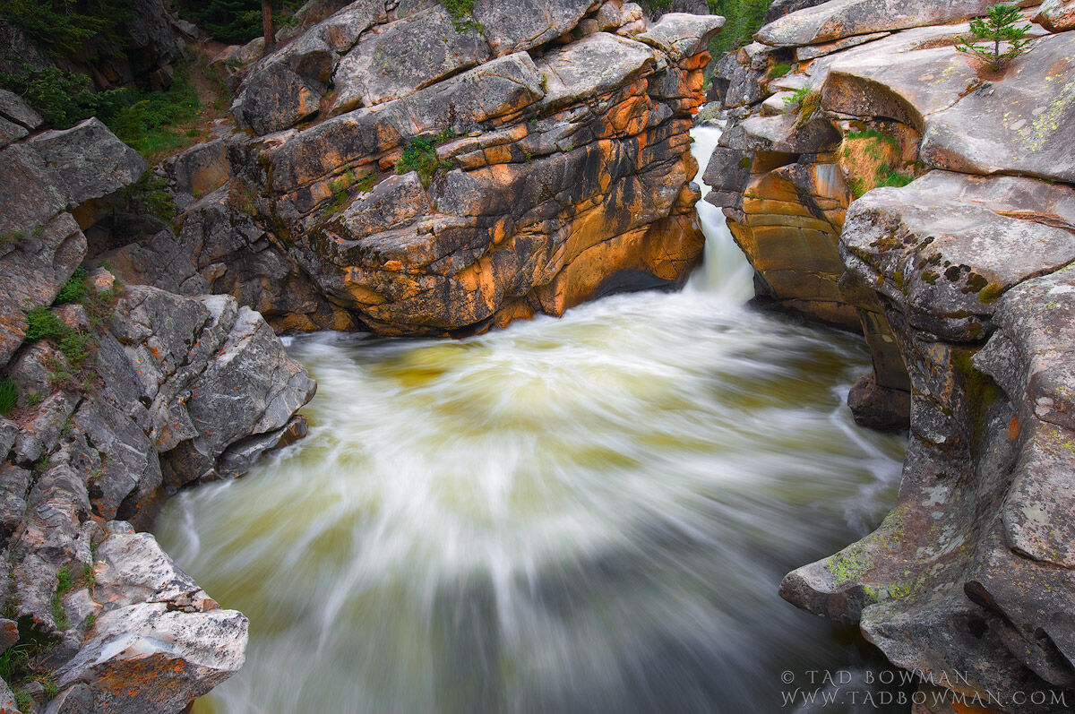 waterfall picture, waterfall pictures, Spring photographs, Roaring Fork River photos,Colorado, photo