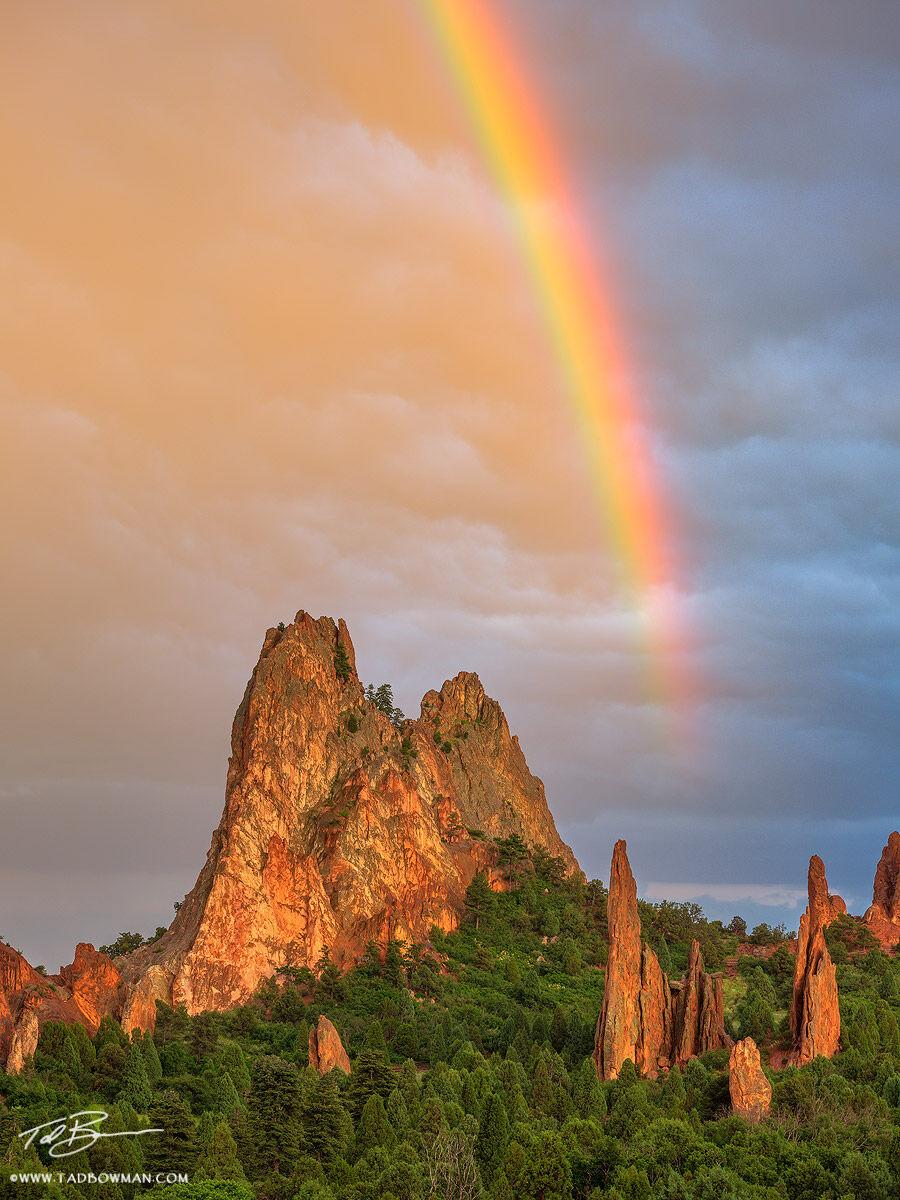 Garden Of The Gods Rainbow Garden Of The Gods Colorado