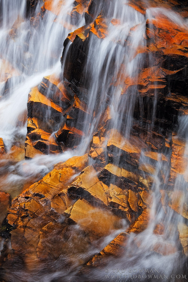 Cascade Creek photo, Colorado, waterfall photos, Colorado waterfall pictures, abstract, Image, Mountain, photo